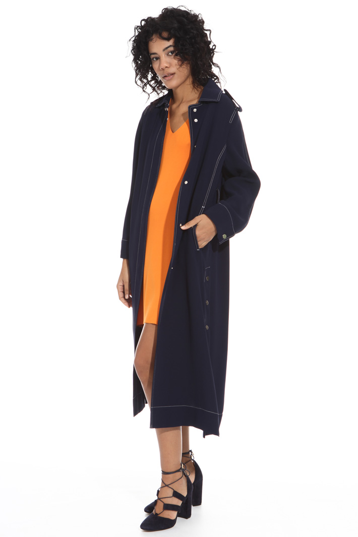Spolverino in tessuto fluido Fashion Market