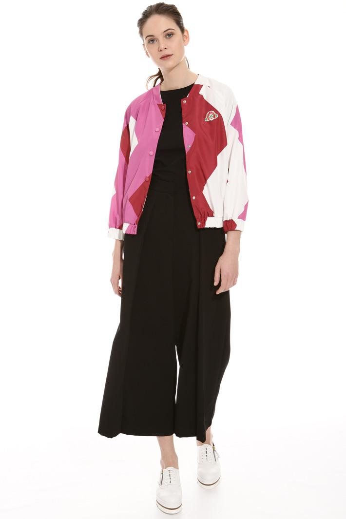 Bomber in tessuto tecnico Fashion Market
