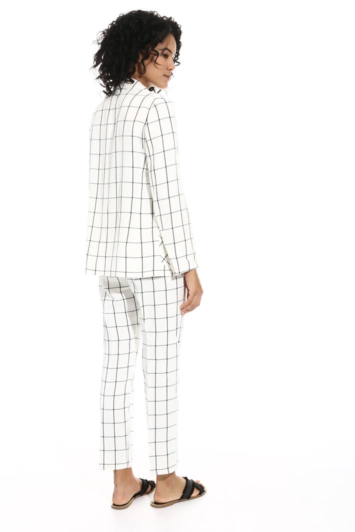 Giacca in lino misto viscosa Fashion Market