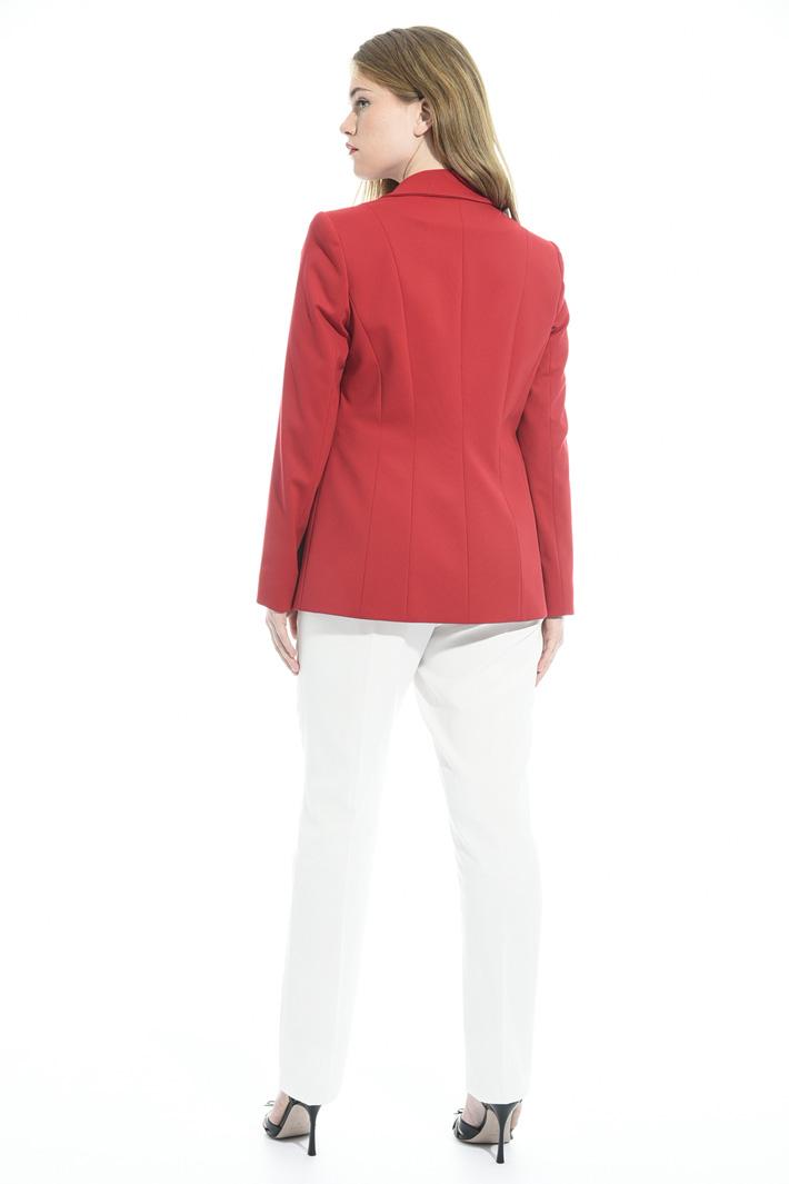 Blazer in jersey crepe Fashion Market