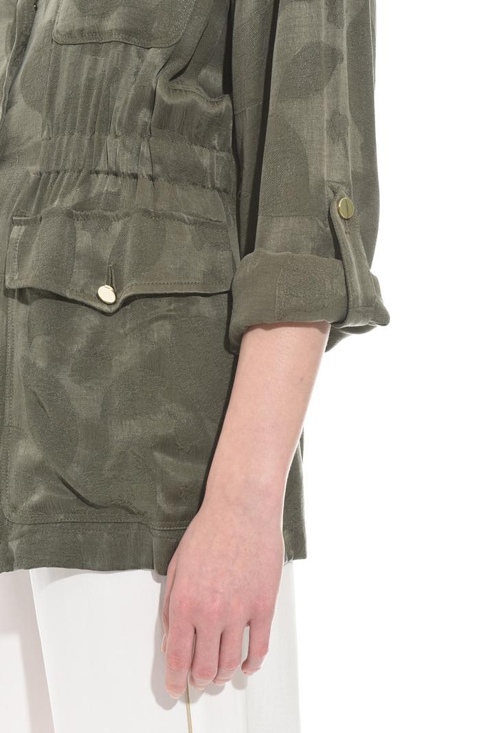 Giacca in jacquard fluido Fashion Market