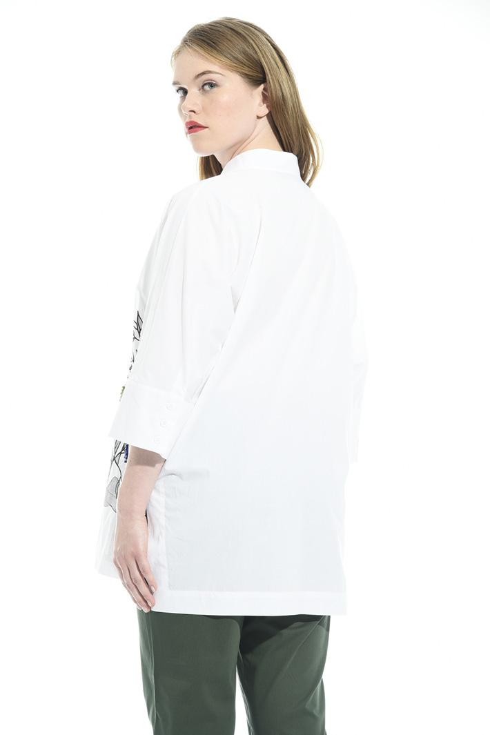 Camicia con pietre colorate Fashion Market