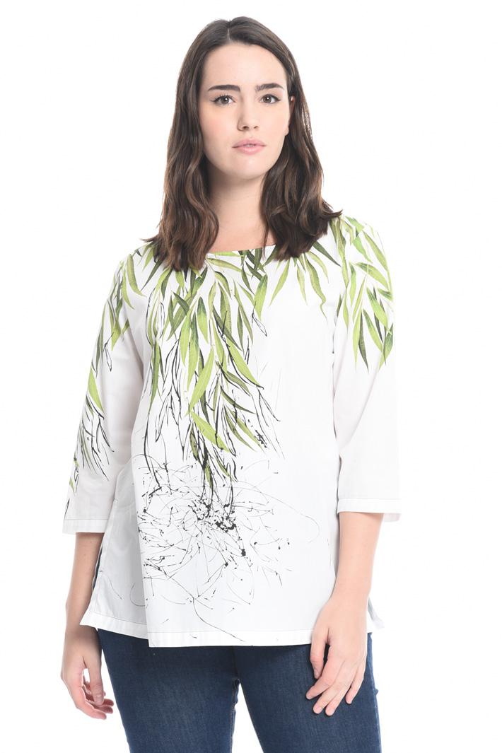 Casacca in popeline stampato Fashion Market