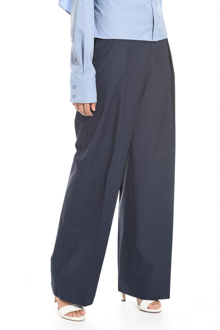 Pantalone ampio a vita alta Fashion Market