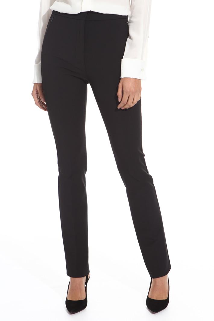 Pantalone stretch a sigaretta Fashion Market