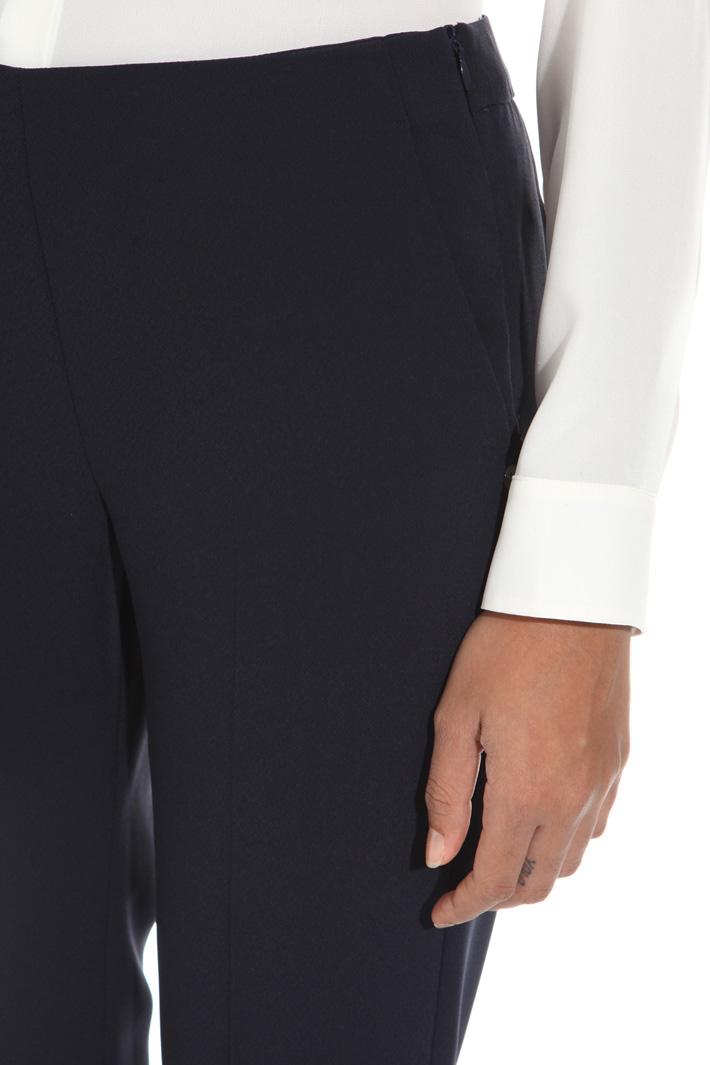 Pantalone in enver satin Fashion Market