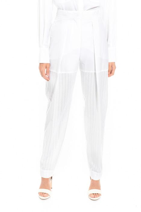 Pantalone con gamba jacquard Fashion Market