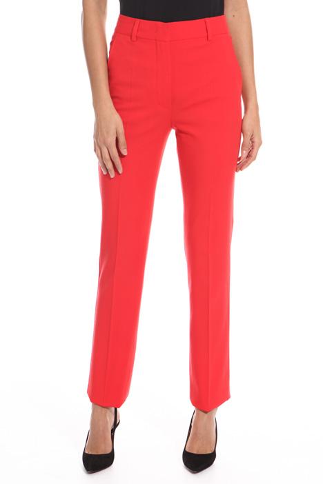 Pantalone a sigaretta in lana Fashion Market