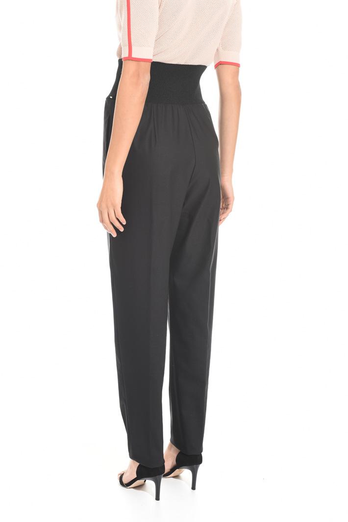 Pantalone con fascia elastica Fashion Market