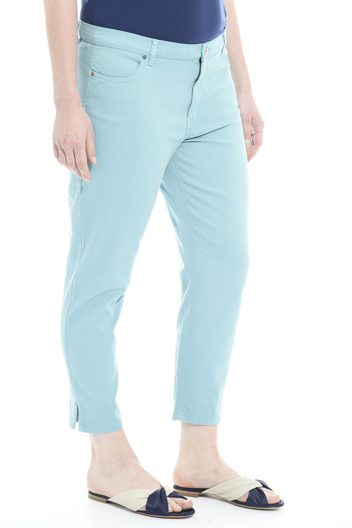 Pantalone in drill di cotone Fashion Market