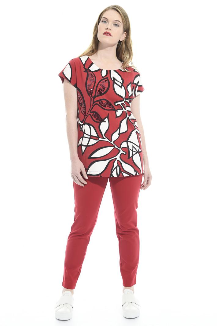 Skinny in jersey crêpe Fashion Market