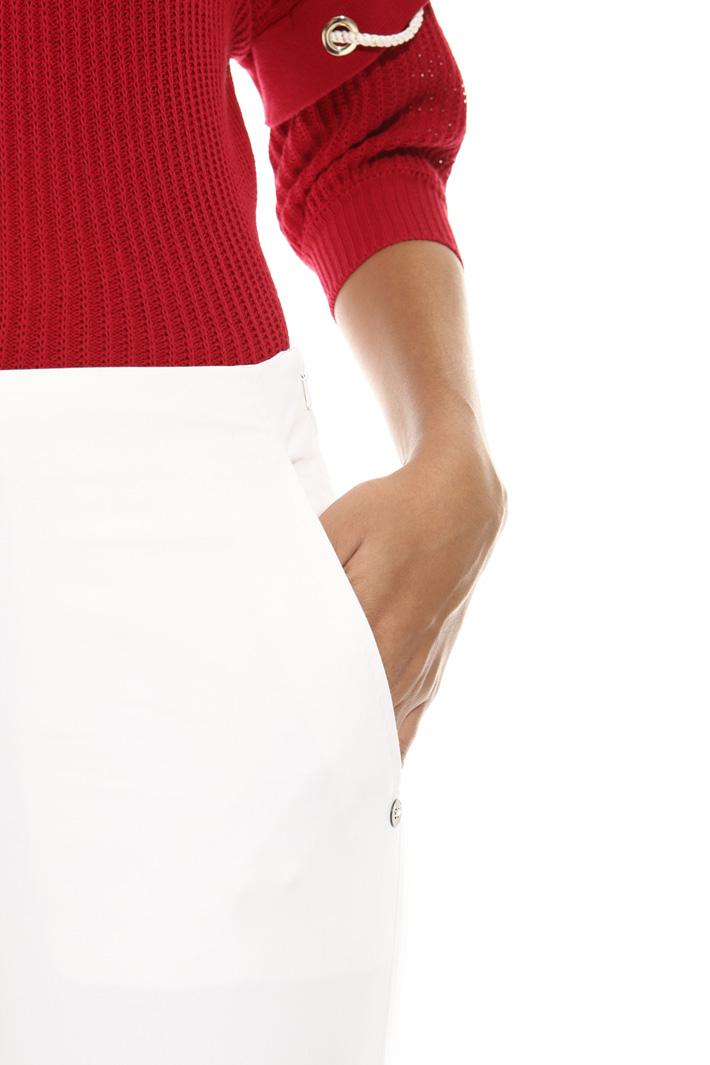 Pantalone in raso di cotone Fashion Market