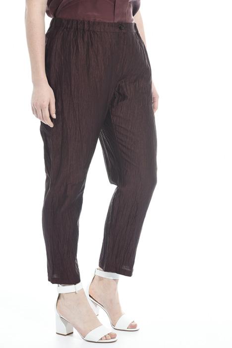 Pantaloni in seta e lino Fashion Market