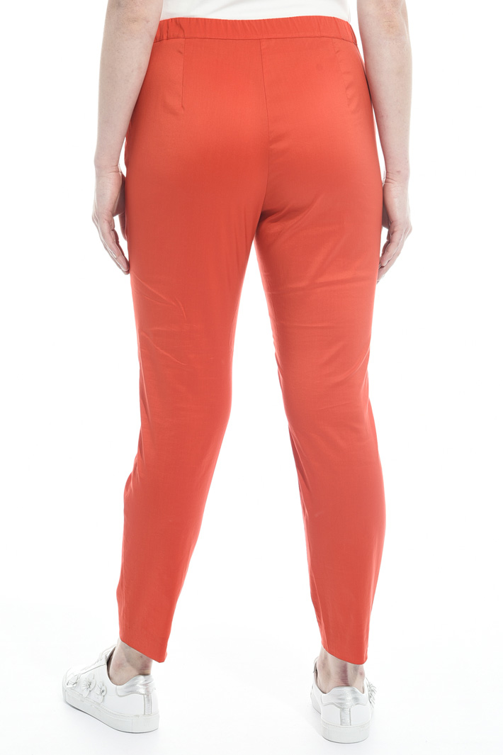 Pantaloni in cotone stretch Fashion Market