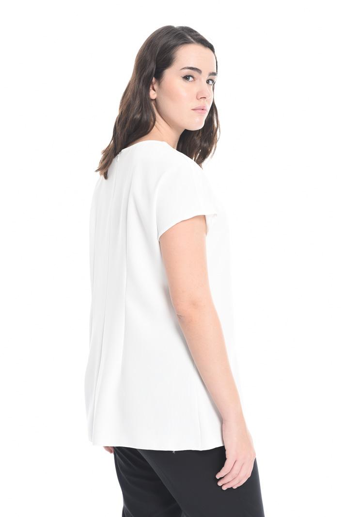 Top in triacetato con nodo Fashion Market
