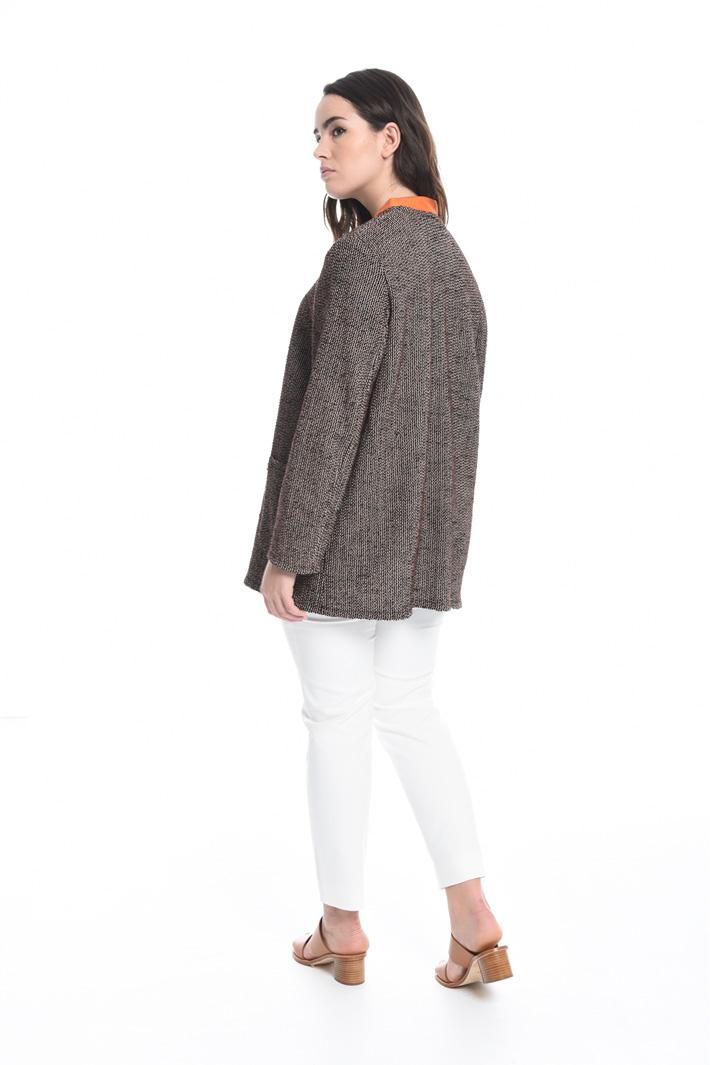 Giacca in cotone bouclé Fashion Market