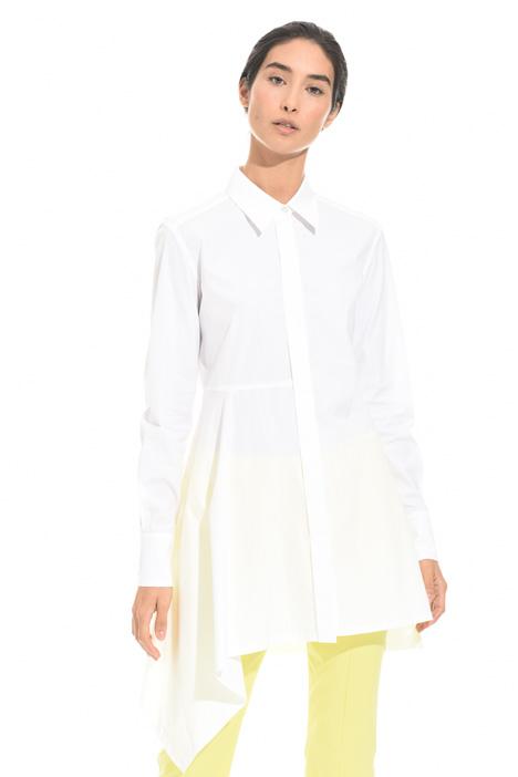 Camicia lunga in popeline Fashion Market