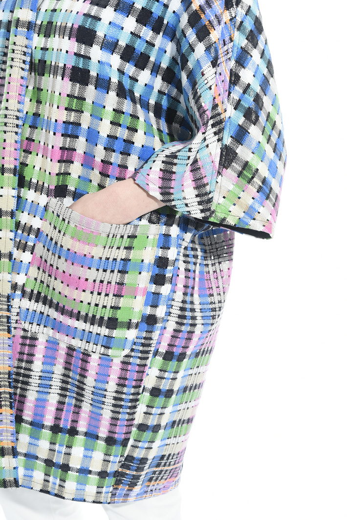 Spolverino scozzese multicolor Fashion Market