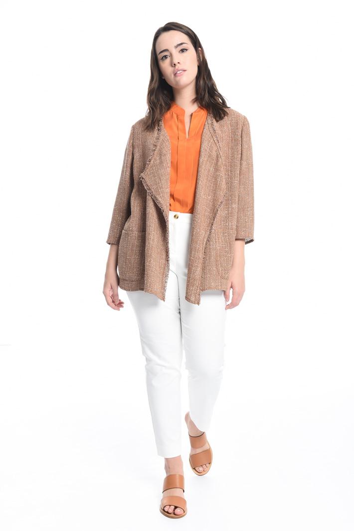 Giacca in tessuto bouclé Fashion Market