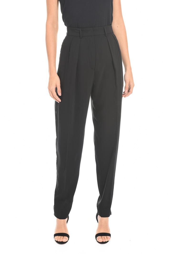 Pantalone lungo in georgette Fashion Market