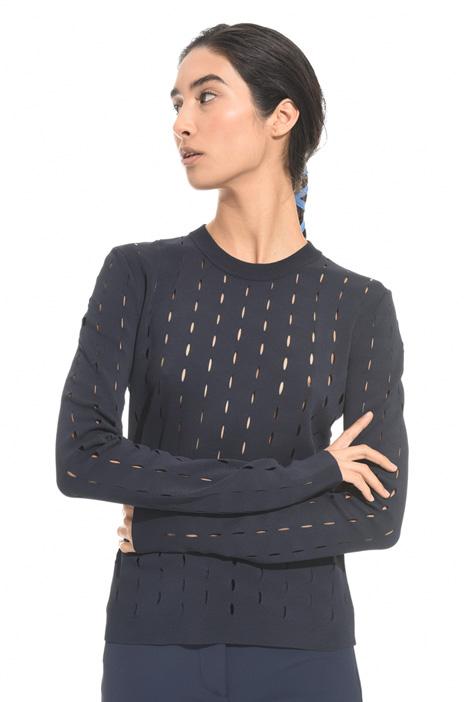 Maglia traforata in viscosa Fashion Market
