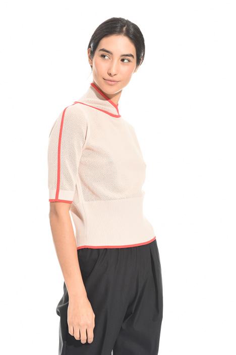 Top in maglia traforata Fashion Market