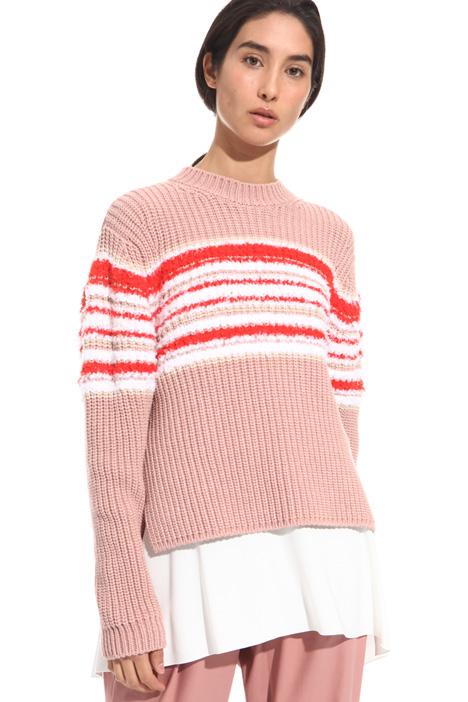 Maglia in cotone a coste Fashion Market
