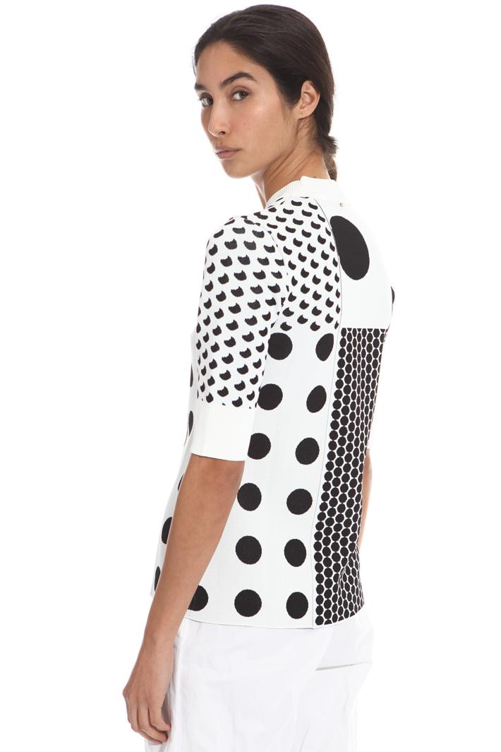Maglia in jersey jacquard Fashion Market