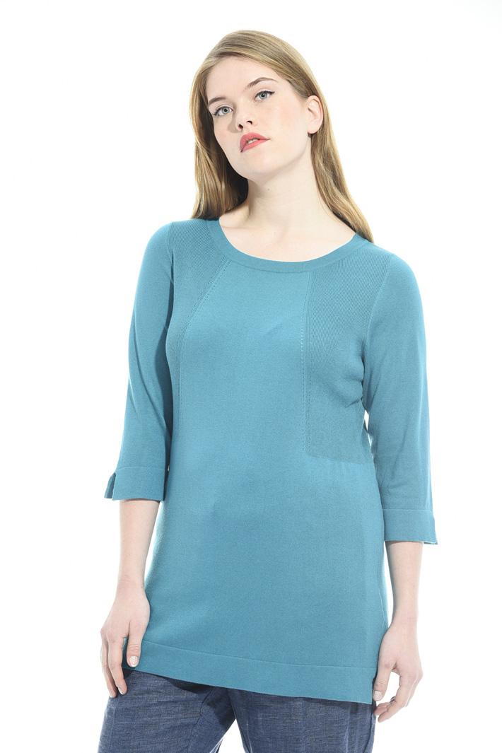 Maglia in seta e cotone Fashion Market