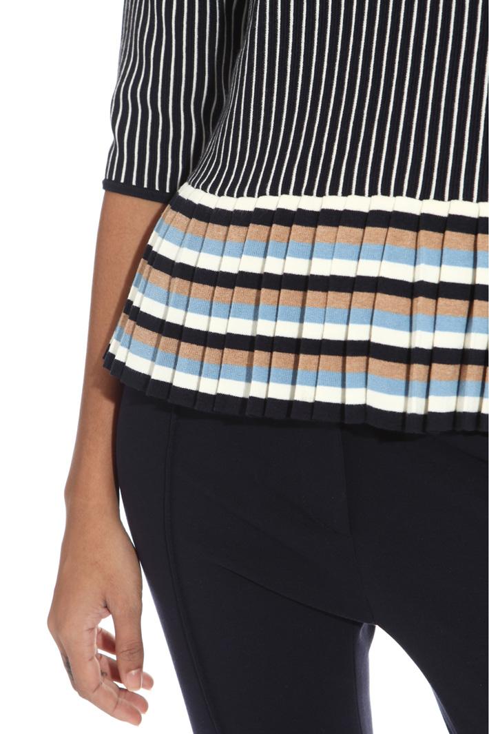 Maglia con pieghe sul fondo Fashion Market