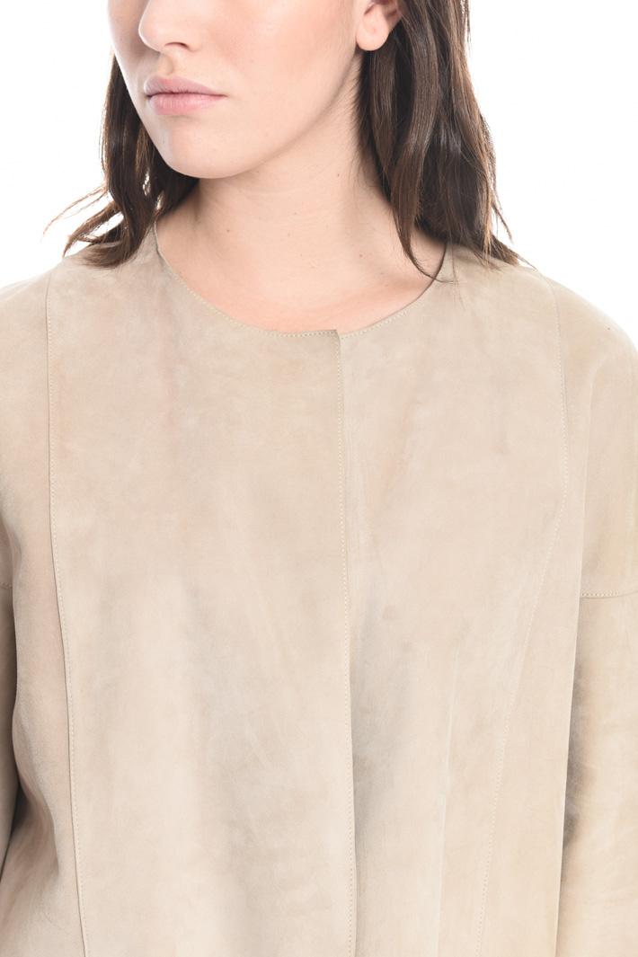 Giacca in camoscio Fashion Market