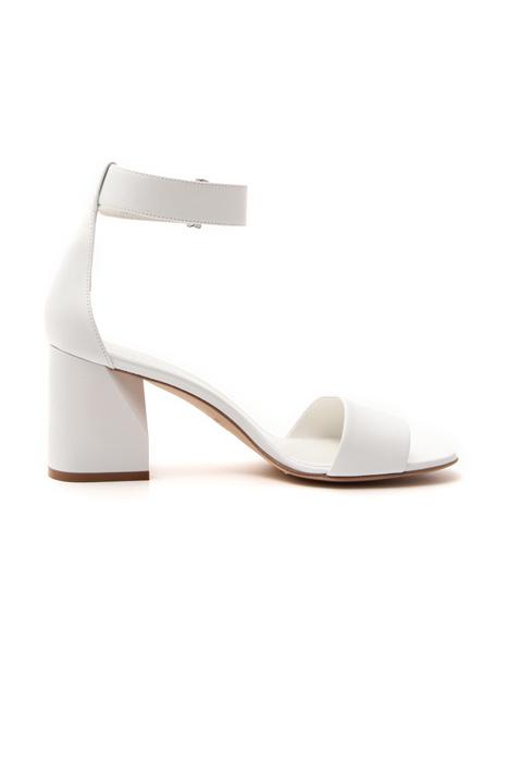 Sandalo in pelle con cinturino Fashion Market