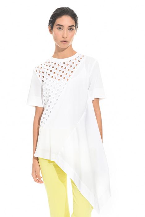 Casacca con fondo asimmetrico Fashion Market