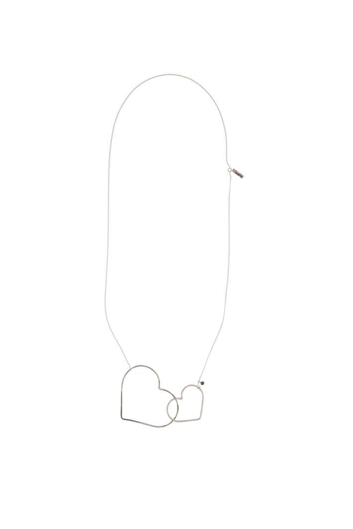 Collana silver con cuori Fashion Market