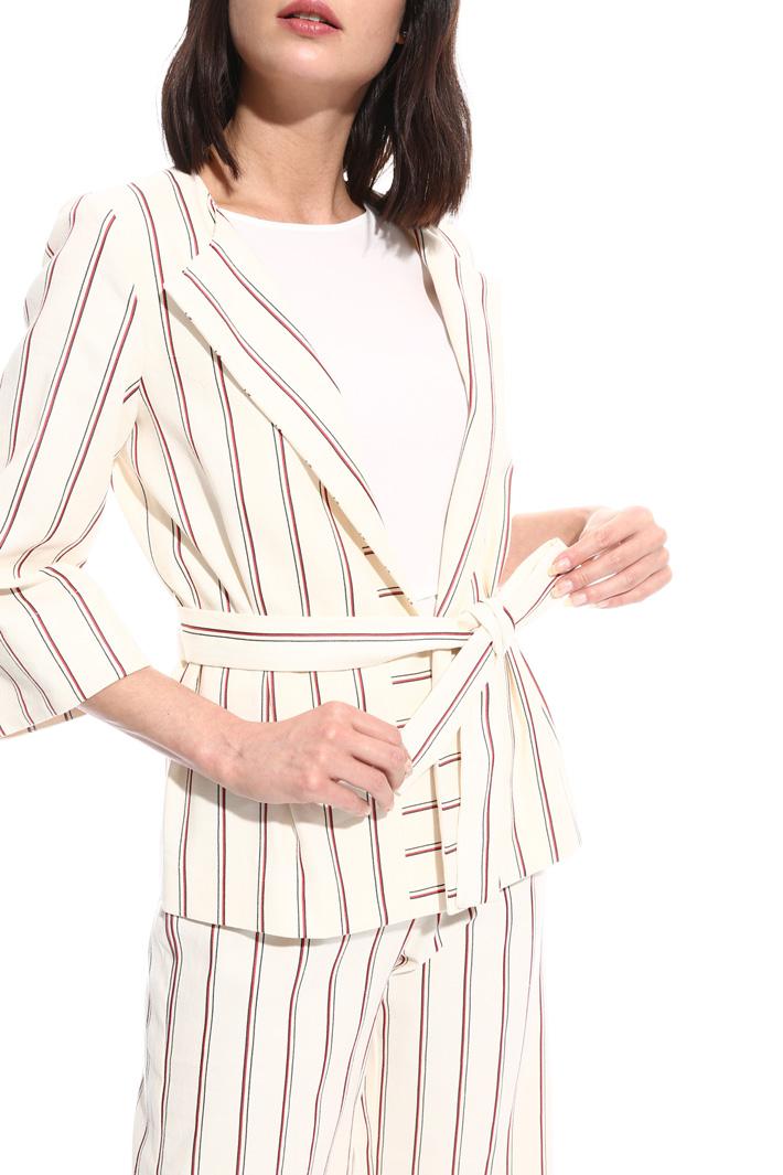 Giacca in saglia rigata Fashion Market