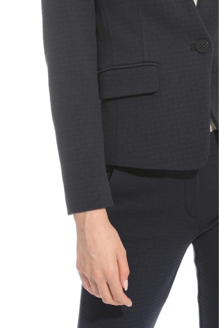 Blazer in jersey jacquard Fashion Market