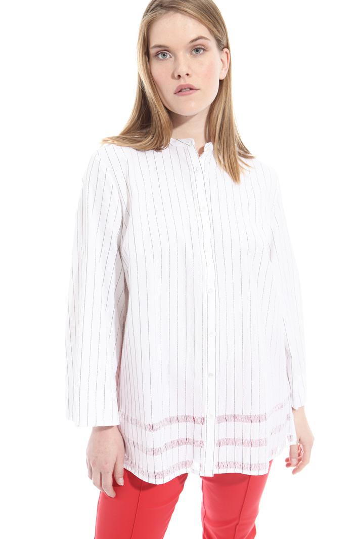 Camicia in cotone e lino Fashion Market