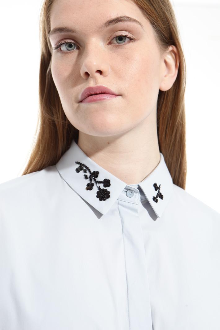 Camicia con ricamo bijoux Fashion Market
