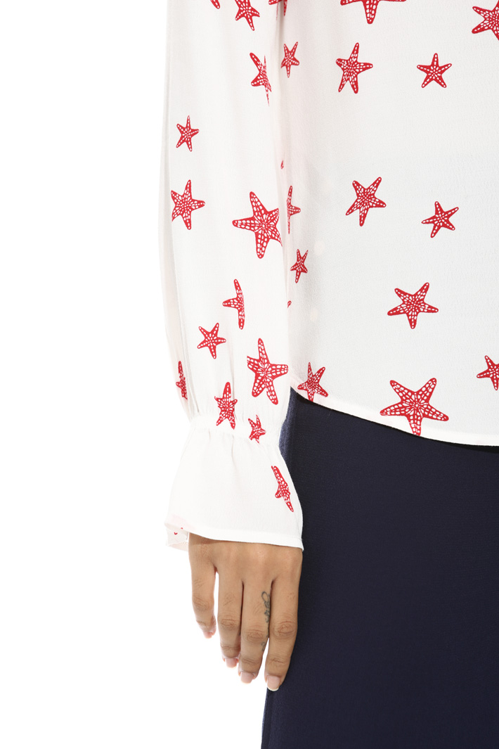 Blusa in fluido crepe Fashion Market