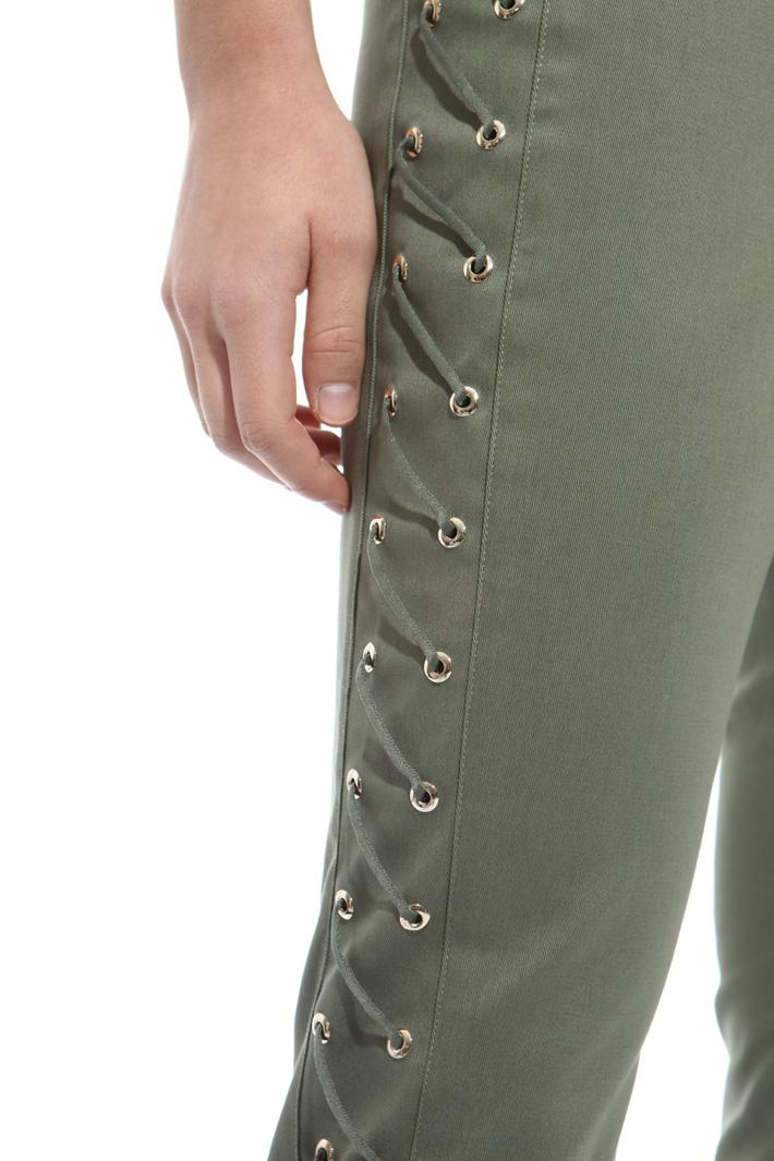 Pantalone con stringhe Fashion Market