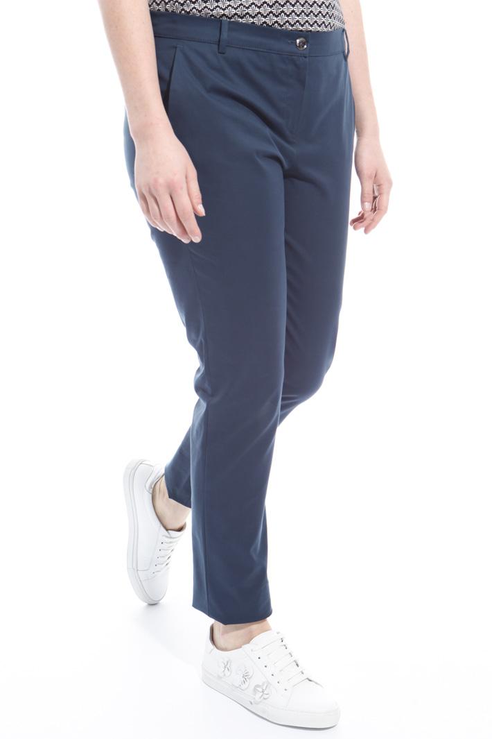 Pantalone in canvas di cotone Fashion Market