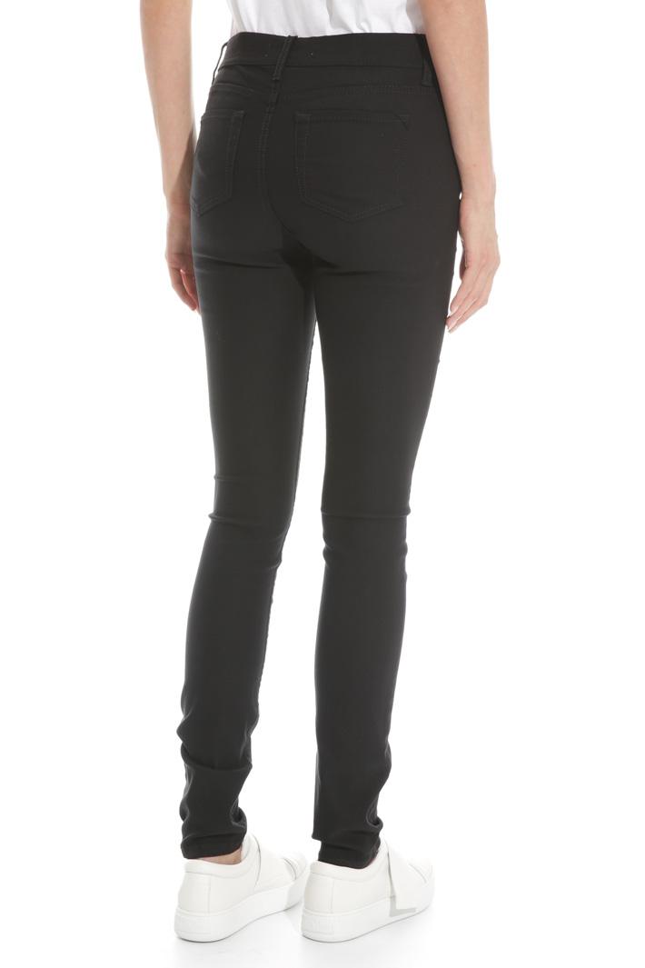 Pantalone in twill stretch Fashion Market