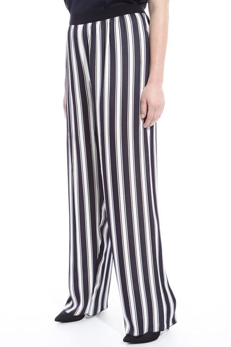 Pantalone palazzo in viscosa  Fashion Market