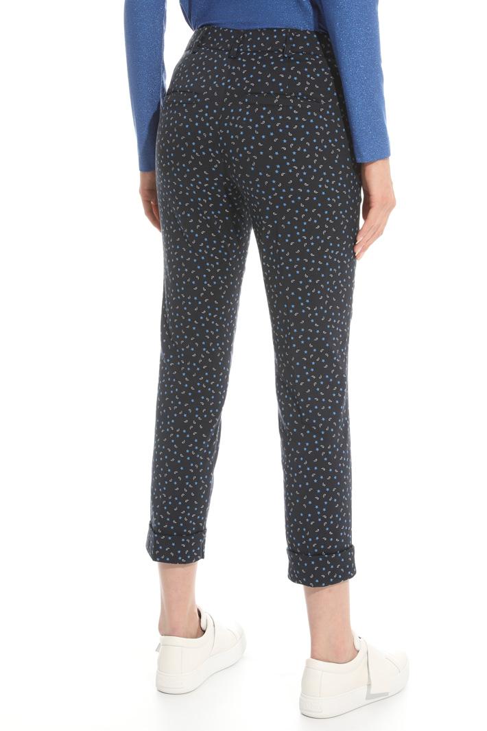 Pantalone in tessuto jacquard Fashion Market