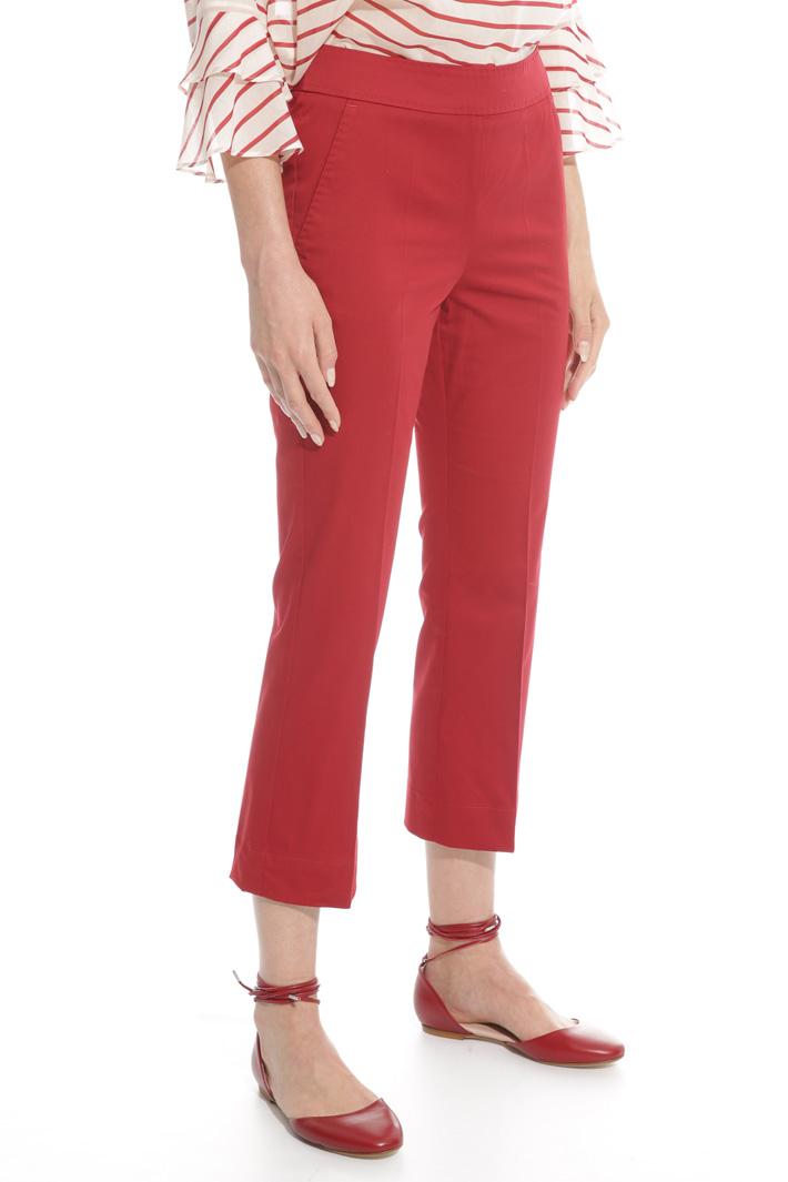 Pantalone flare in cotone Fashion Market