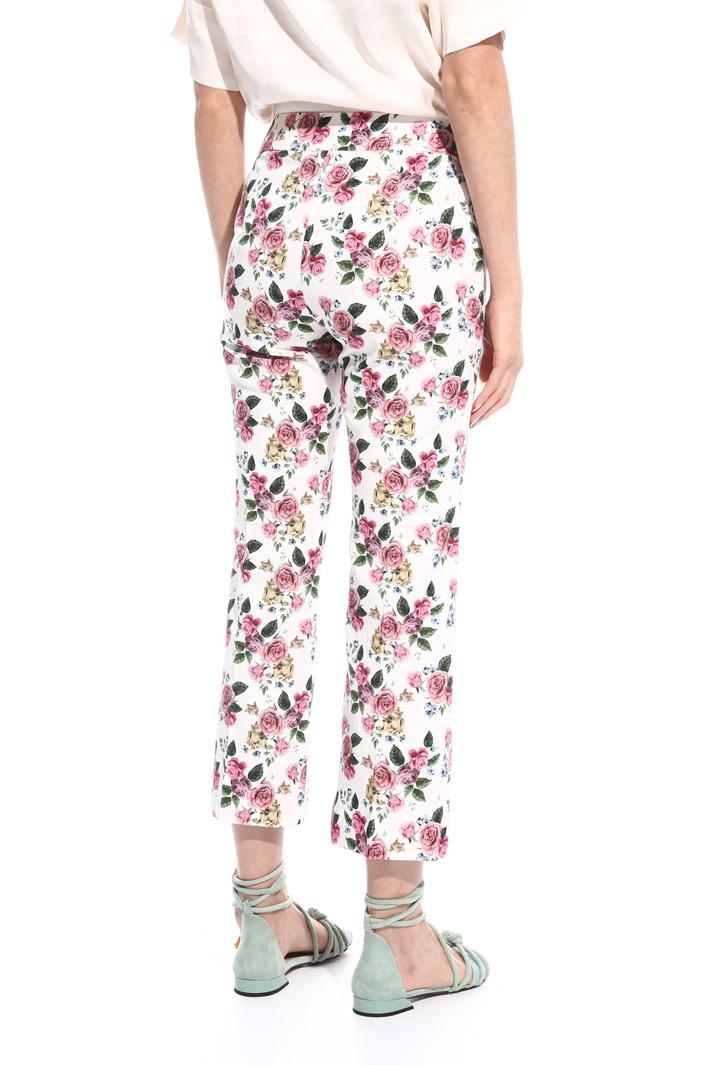 Pantalone in faille stretch Fashion Market