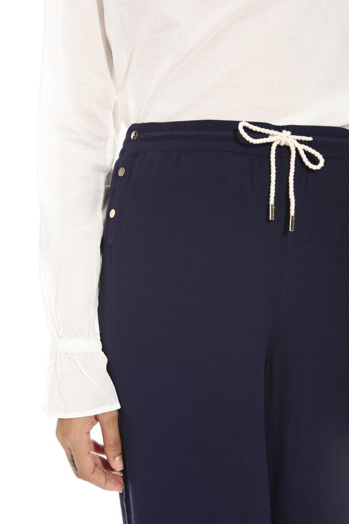 Pantalone in fluido crepe Fashion Market