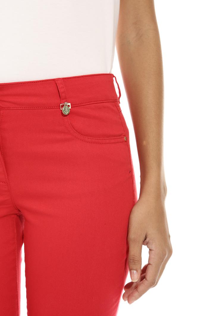 Pantalone skinny in drill Fashion Market