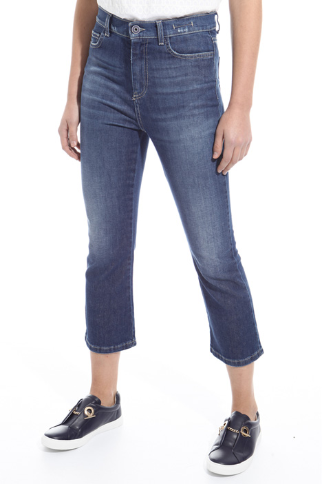 Jeans flare in denim Fashion Market