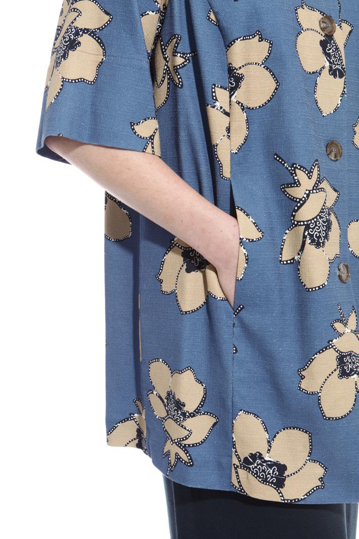 Casacca in stuoia di cotone Fashion Market